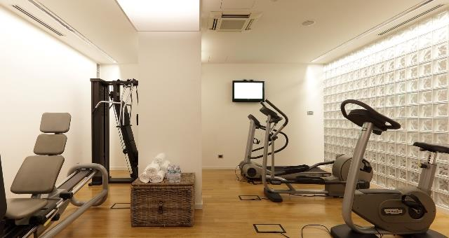 Check out the fitness center and spa at the Best Western Plus Hotel Monza e Brianza Palace!