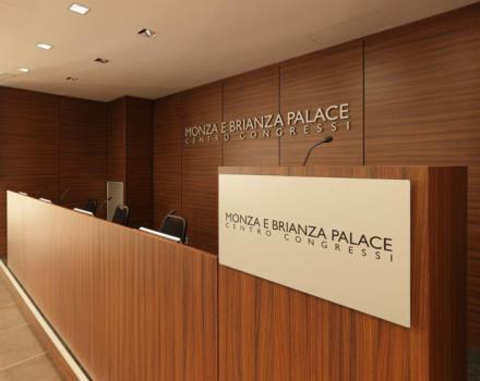 Discover the exclusive Congress Center that the Plus Best Western Hotel Monza e Brianza Palace puts at your disposal!