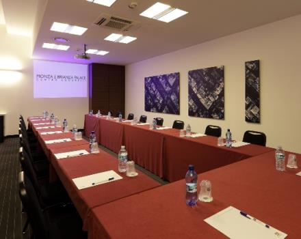 The Monza Room of the Best Western Plus Hotel Monza e Brianza Palace
