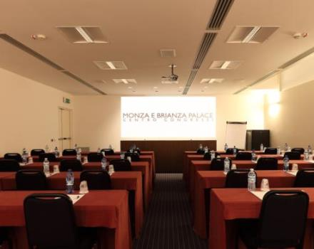 Discover the exclusive Congress Center that the Best Western Plus Hotel Monza e Brianza Palace puts at your disposal!